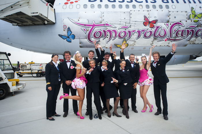 Brussels Airlines Tomorrowland Flight