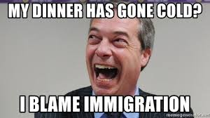Farage, meme, anti-immigration, identity