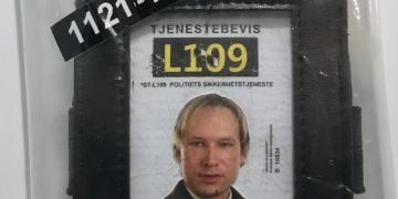 Breivik's forged police ID