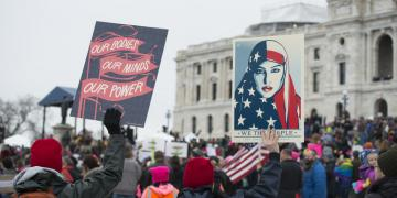 Feminism intersectionality women's march antiracism muslim