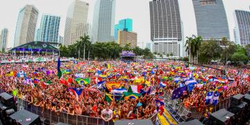 Flag Moment at Ultra Miami