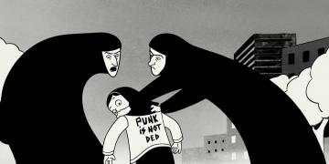 persepolis, narrative