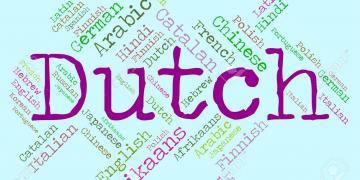 Dutch Language Representing Translator Dialect And Netherlands