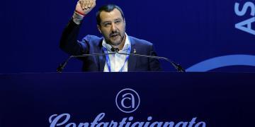 matteo Salvini, new right, lega