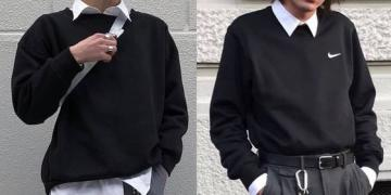 eboy outfit black and white