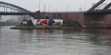 Alan Kurdi graffiti