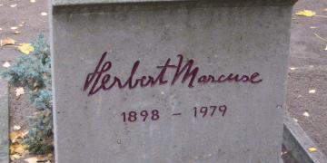 Marcuse's grave, cultural marxism, hoax, conspiracy theory new right