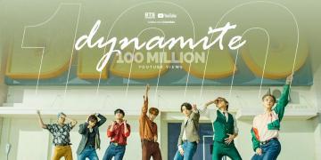Dynamite Reaches 100 Million Views on YouTube
