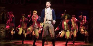 Hamilton London Broadway Musical theatre