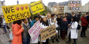 March for Science Brussels 2017