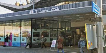 Spoorzone Tilburg Station