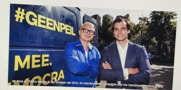 Thierry Baudet, Jan Roos, #GEENPEIL
