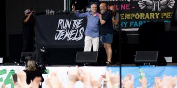 Corbyn at Glastonbury