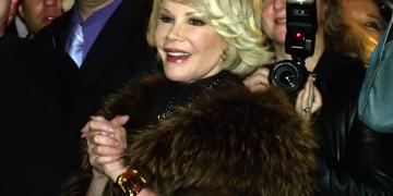Joan Rivers at the 25th Anniversary party of Michael Musto