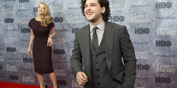 "Kit Harington at HBO's ""Game Of Thrones"" Season 3 Seattle Premiere at Cinerama"