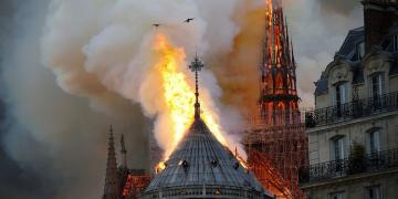 The Notre-Dame fire