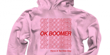 Merch for the ok, boomer trend