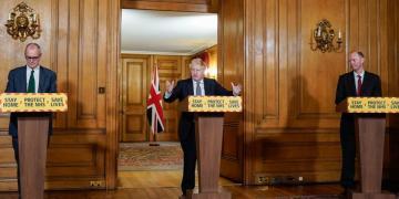 Press conference Boris Johnson