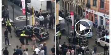Politieactie Antwerpen september 2017