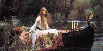 Waterhouse, The Lady of Shalott (1888)
