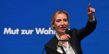 AfD leader Alice Weidel