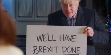 boris get brexit done johnson