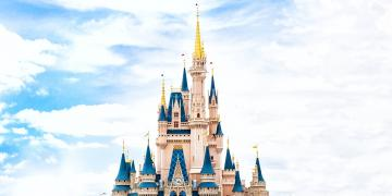 Disney castle Florida