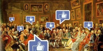 The impact of Facebook on the public sphere (salon d'holbach)
