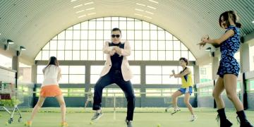 celebrities, gangnam, virality, online YouTube
