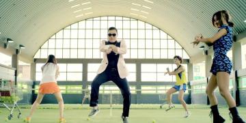 celebrities, gangnam, virality, online YouTube