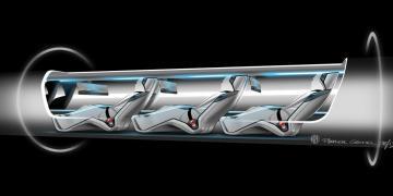 Hyperloop One concept