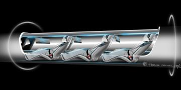 Hyperloop One concept