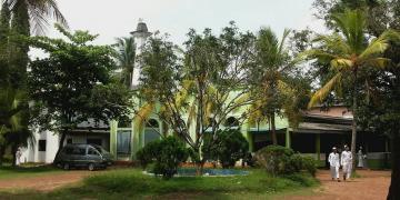 Ghafooriyya moskee in Maharagama (Colombo)
