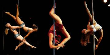 Pole dance competition Buenos Aires 2013