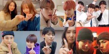 kpop idols any song challenge