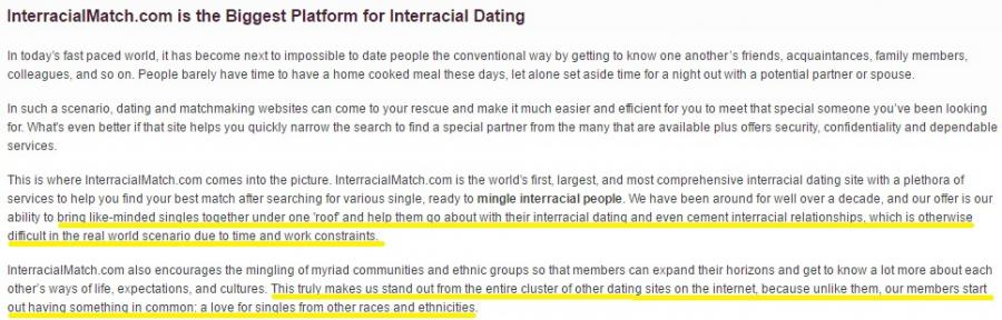 dating other races